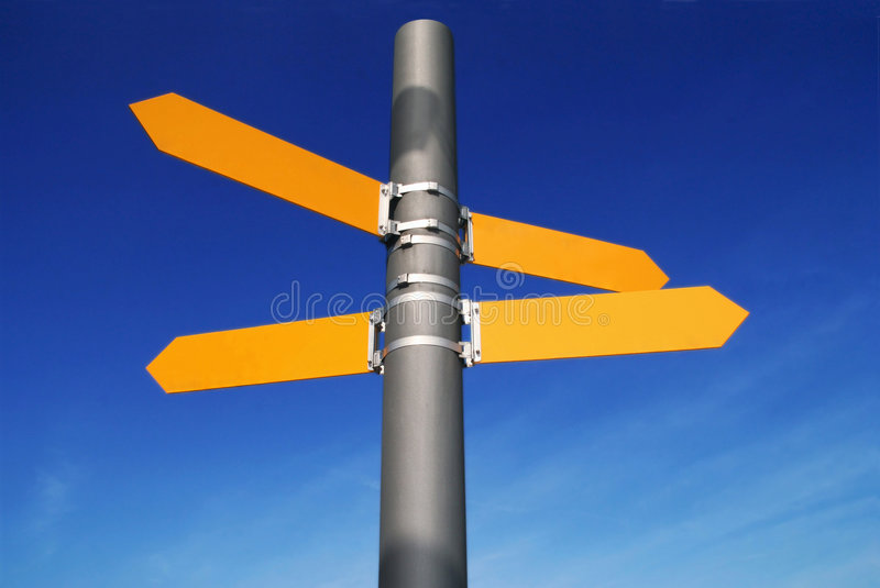 Which Direction? royalty free stock image