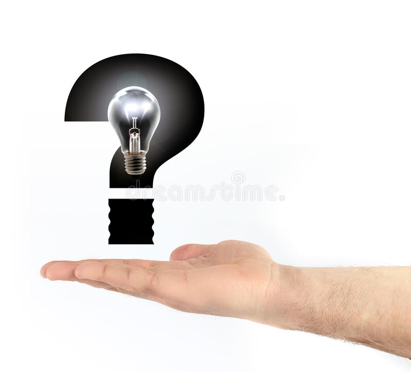 Which energy. Indecision as to which energy stock photography