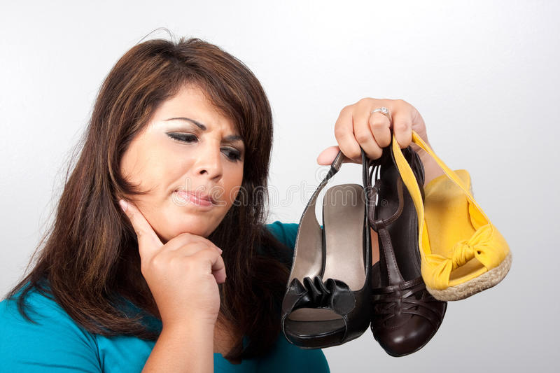 Download Which Shoes Should I Wear stock photo. Image of high - 16252320