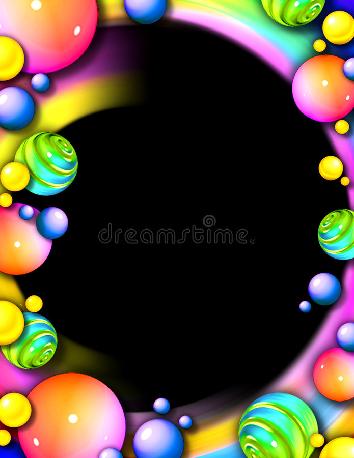 Download Whimsical Party Frame & Background Stock Photos - Image: 1300133