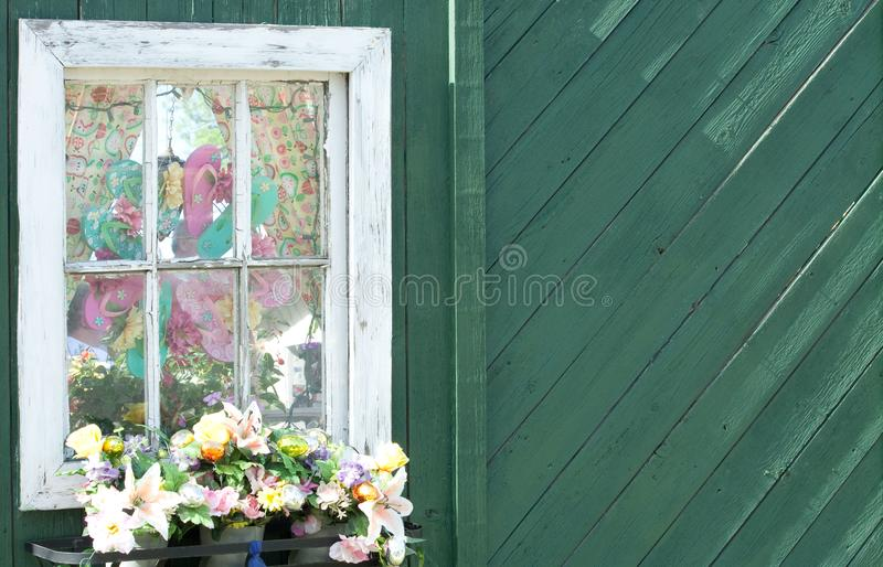 Whimsical Window royalty free stock photos