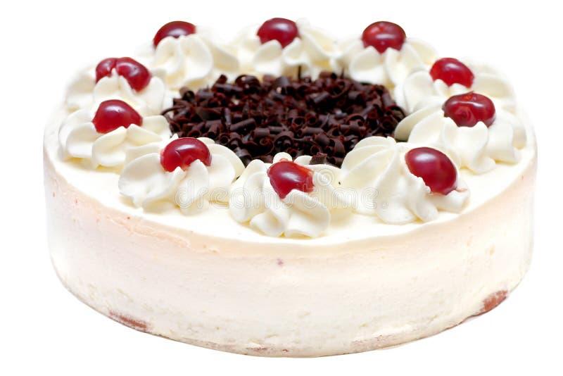 Download Whipped Cream Cake stock photo. Image of white, cherry, cake - 59764