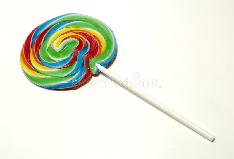 Whirl Pop. Photo of a Whirl / Swirl Lollipop stock photography
