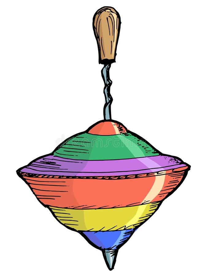 Whirligig ilustracji