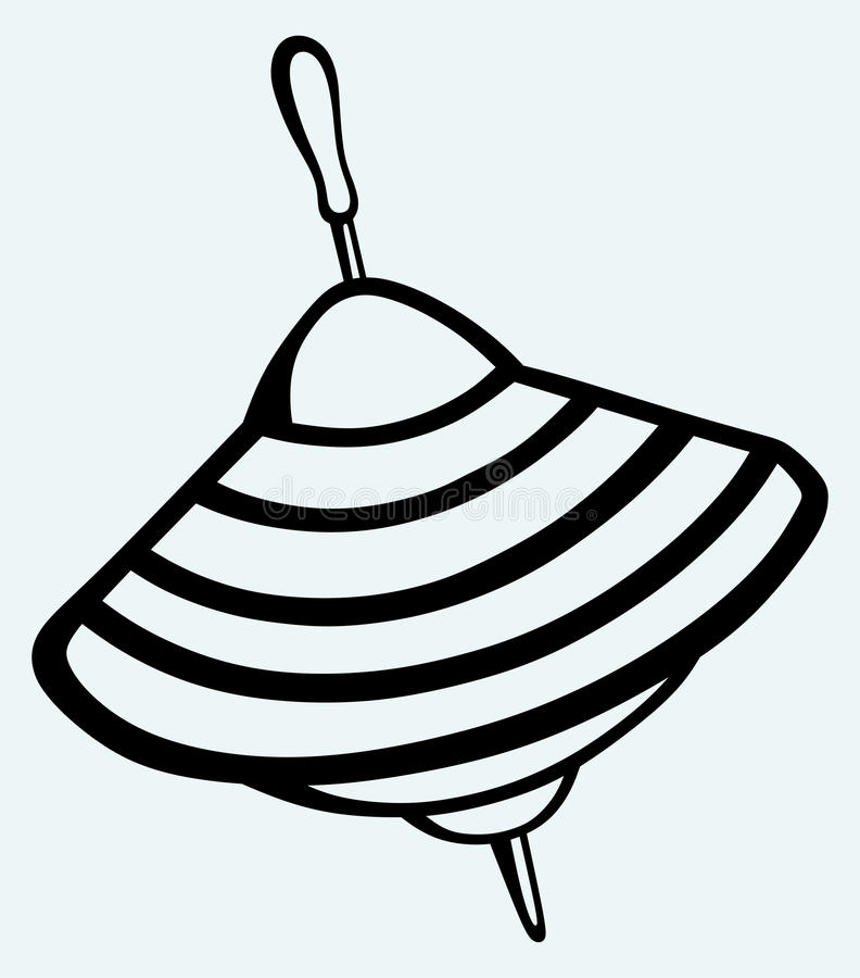 Whirligig wektor ilustracja wektor