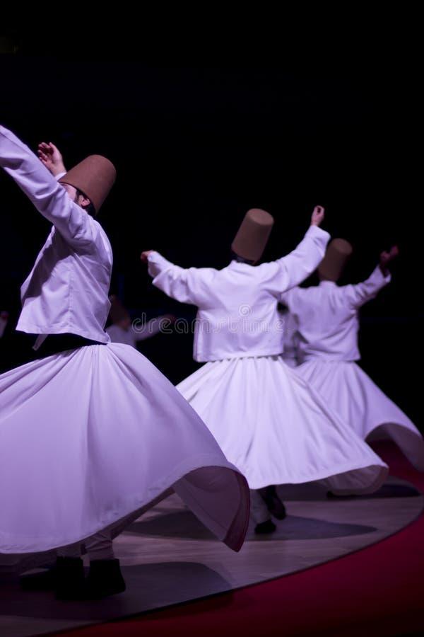 Whirling Dervishes. Konya Mevlana Religion stock photos