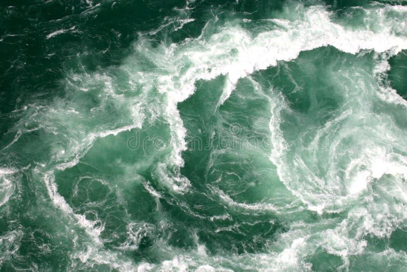 Whirlpool. Water whirlpool near Niagara Falls royalty free stock image