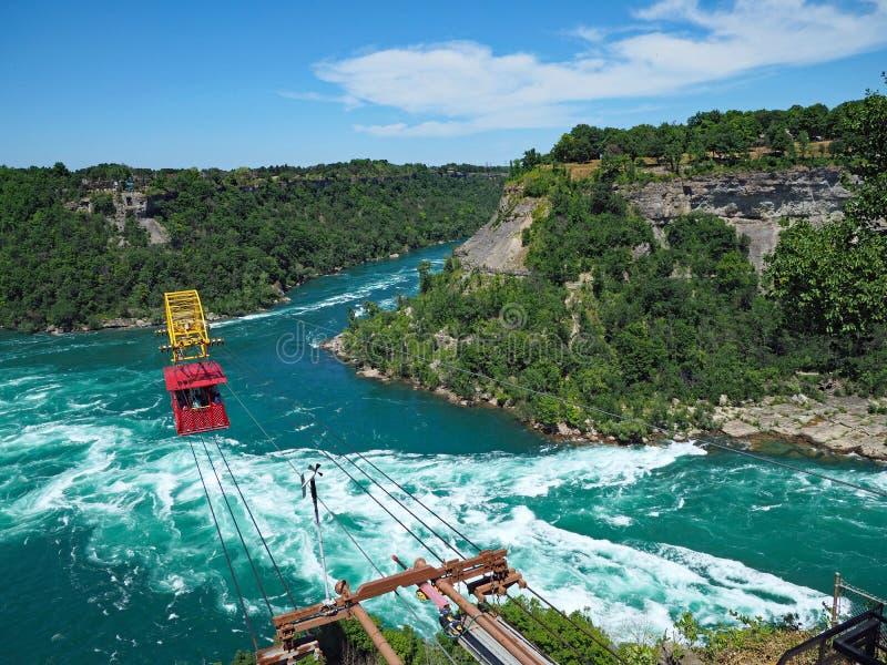 Whirlpool Rapids in Niagara River, stock images