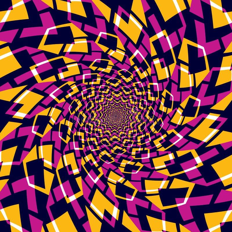 Whirly abstracte achtergrond stock illustratie