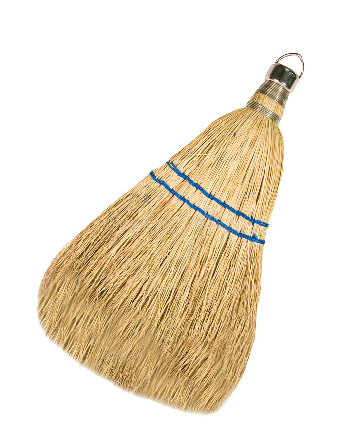 Free Whisk Broom Isolated Royalty Free Stock Photos - 19948508