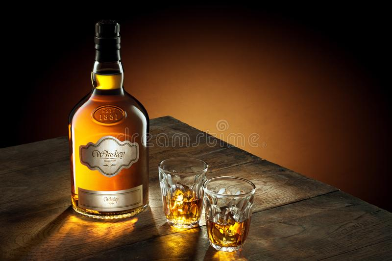 whiskey photographie stock