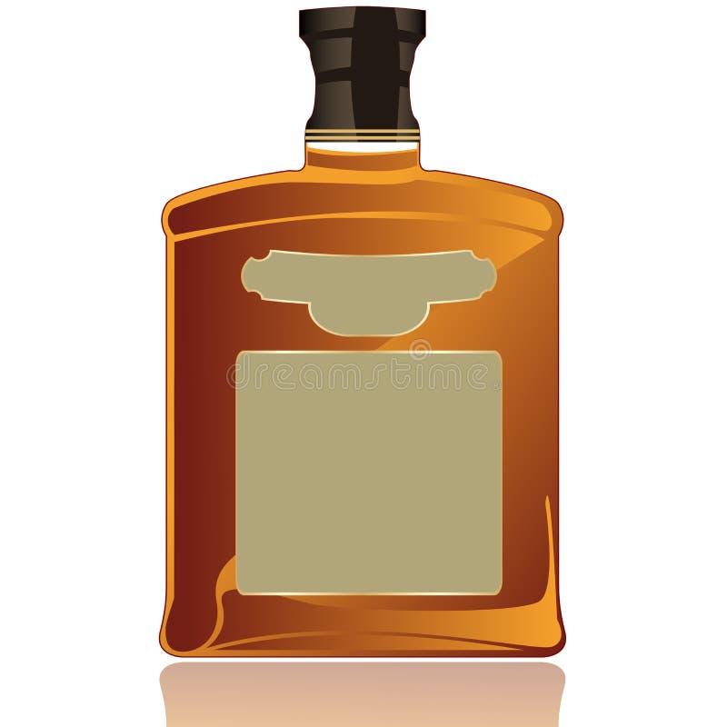 Whiskey vector illustration