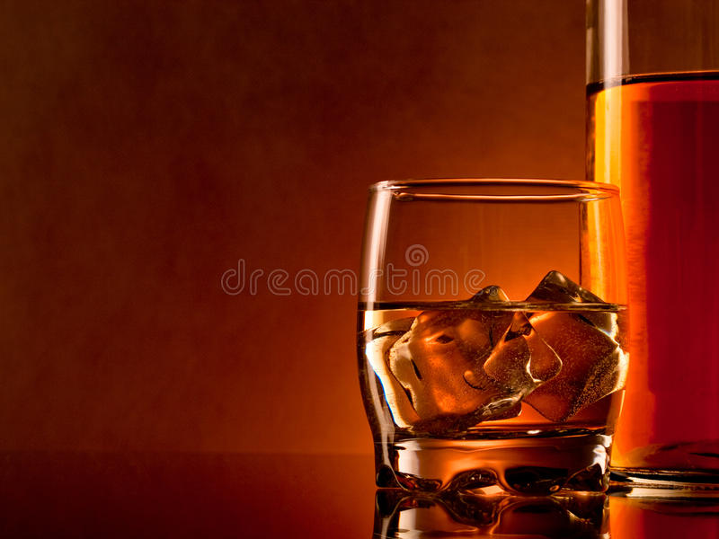 whiskey royaltyfria bilder