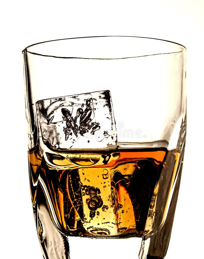 Download Whiskey Bottle & Glass Abstract Royalty Free Stock Photo - Image: 18966195