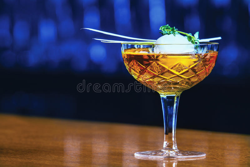 Whiskey Cocktail royalty free stock images