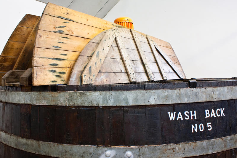 Whiskey distillery royalty free stock photography