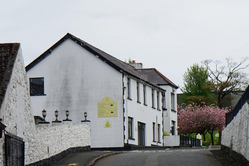 Whiskey distillery, Bushmills, Northern Ireland. Whiskey distillery in Bushmills, Northern Ireland stock images