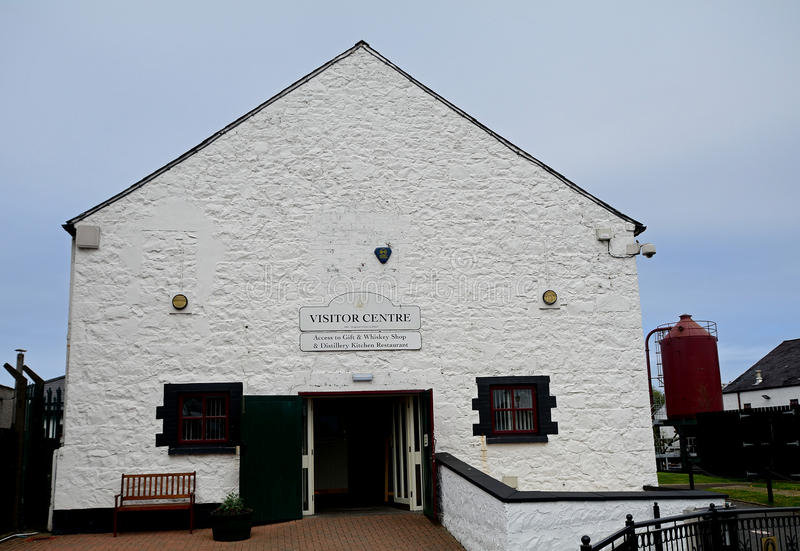 Whiskey distillery, Bushmills, Northern Ireland. Whiskey distillery in Bushmills, Northern Ireland stock image