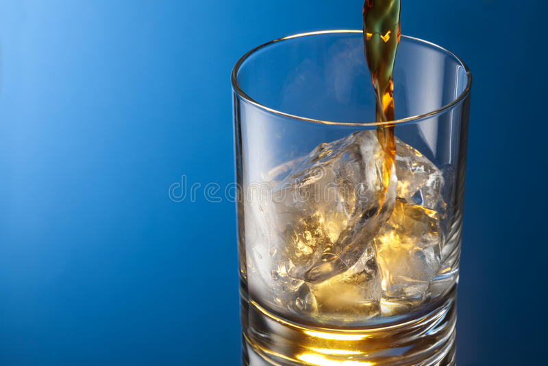 Whiskey glass royalty free stock image