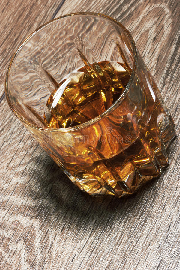 Download Whiskey In Glasses On Wooden Stock Image - Image: 30367535