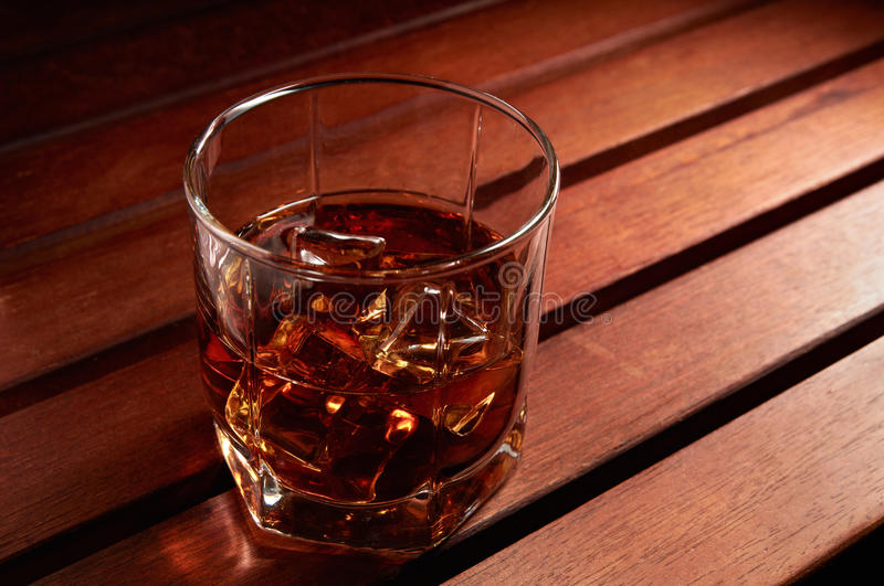 Download Whiskey With Ice Royalty Free Stock Photography - Image: 18190657