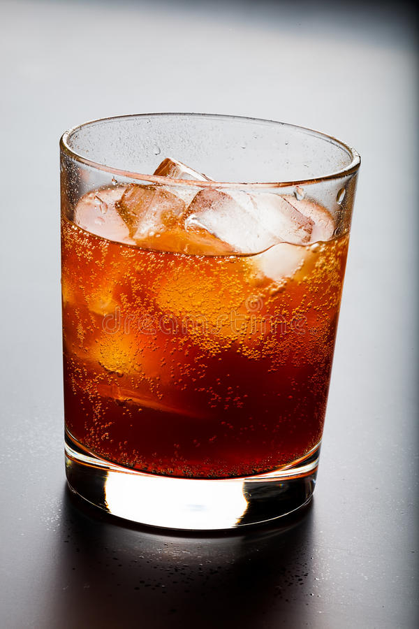 Whiskey and ice royalty free stock photos