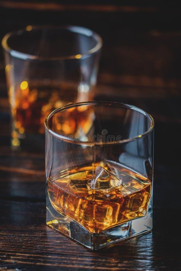 Whiskey, whiskey ou bourbon photos libres de droits