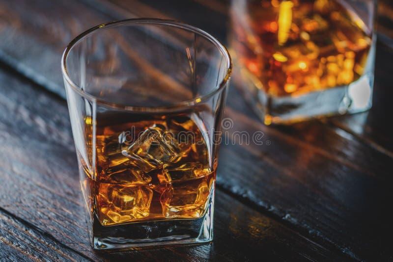 Whiskey, whiskey ou bourbon image libre de droits