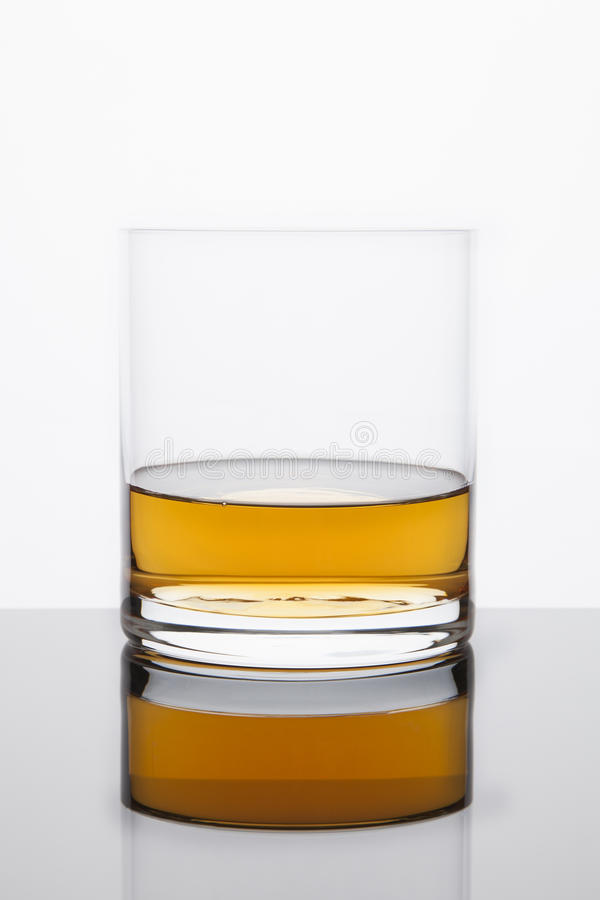 Whiskey Reflected royalty free stock images