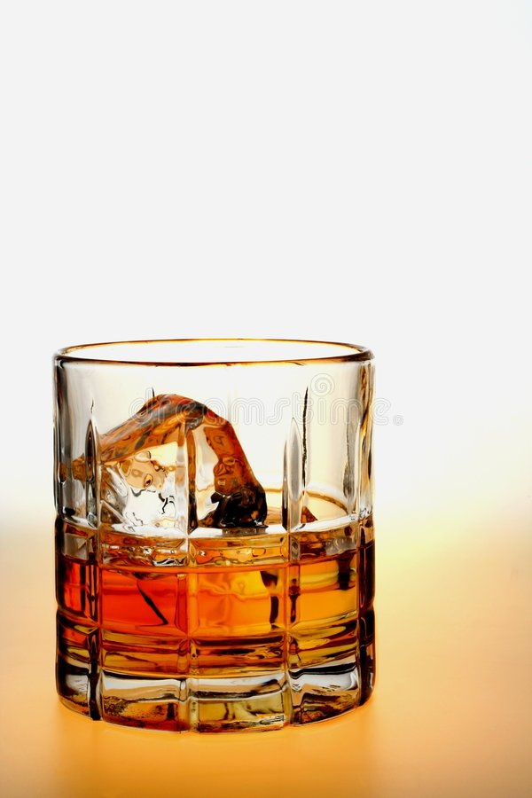 Download Whiskey on The Rocks stock image. Image of open, curves - 4153115