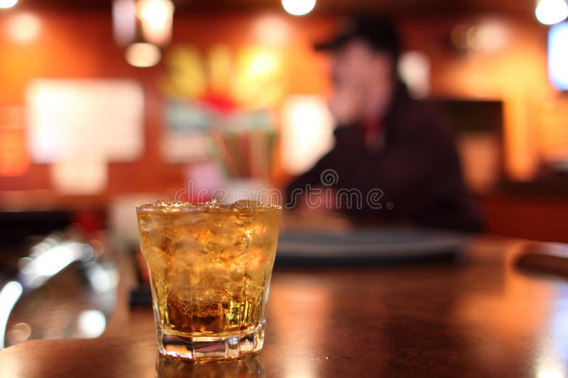 Download Whiskey on the rocks stock photo. Image of cubes, glass - 30031642