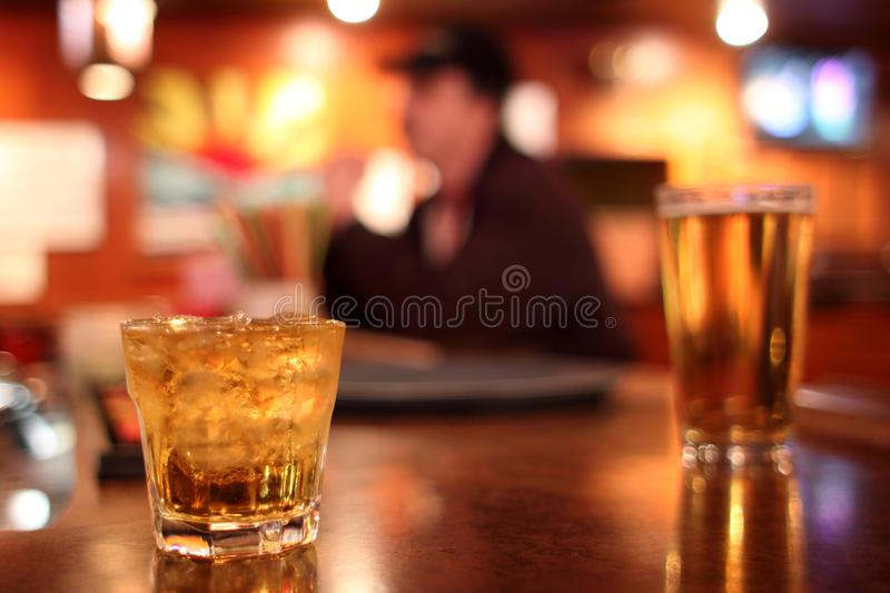 Download Drinks at bar stock photo. Image of pint, cubes, whiskey - 30031650