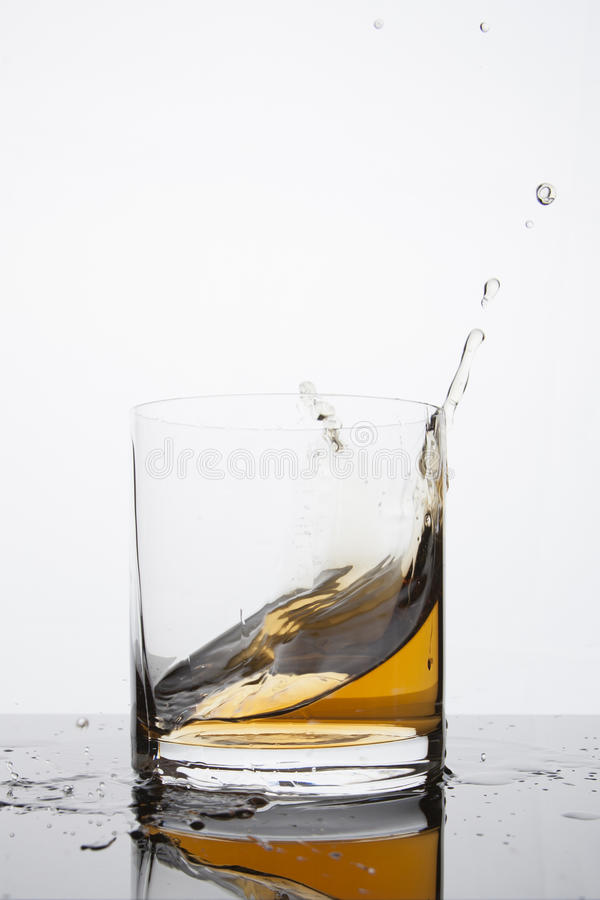 Whiskey Splash stock images