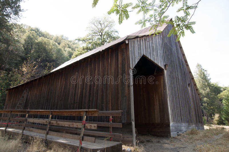 Download Whiskeytown Camden House Horse Barn Stock Image - Image of national, trees: 45070741