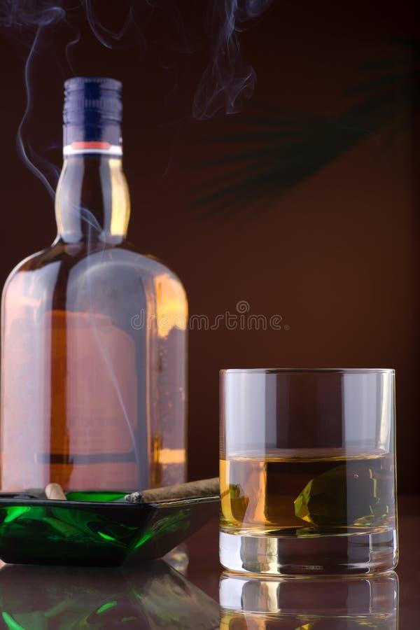 Whisky 4 arkivfoto