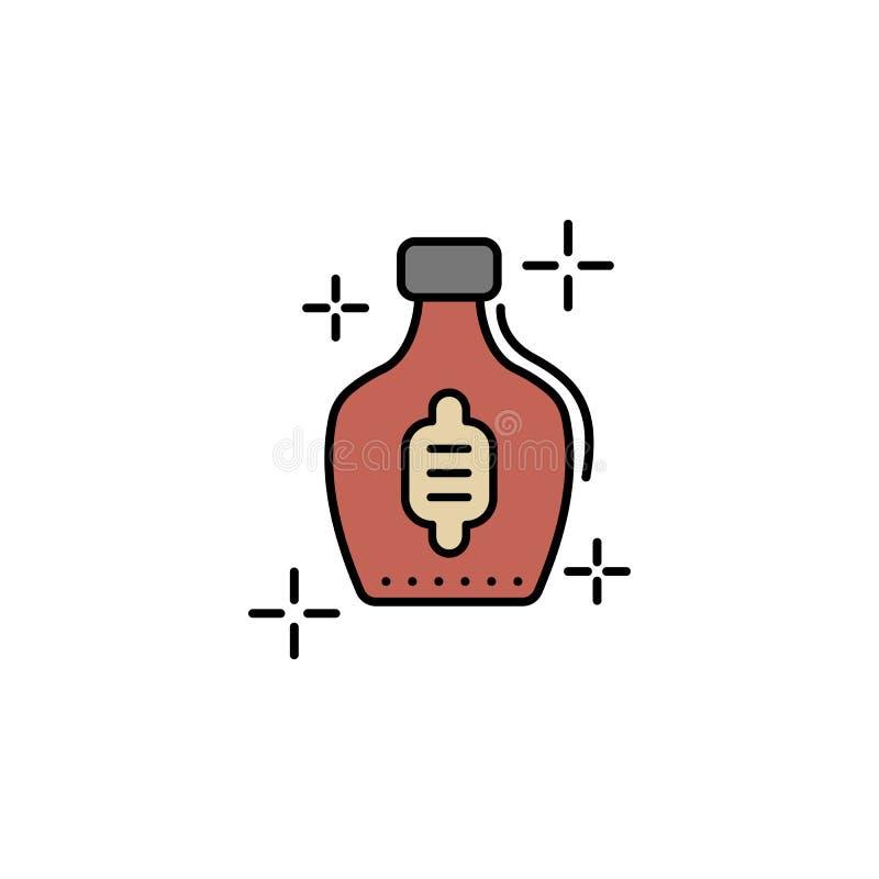 Whisky alkoholsymbol Beståndsdel av symbolen för dag för färgSt Patricks Högvärdig kvalitets- symbol för grafisk design tecken oc vektor illustrationer