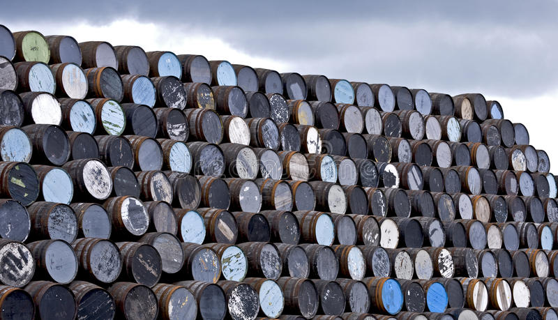 Download Whisky barrels stock photo. Image of colour, whisky, stack - 14491044