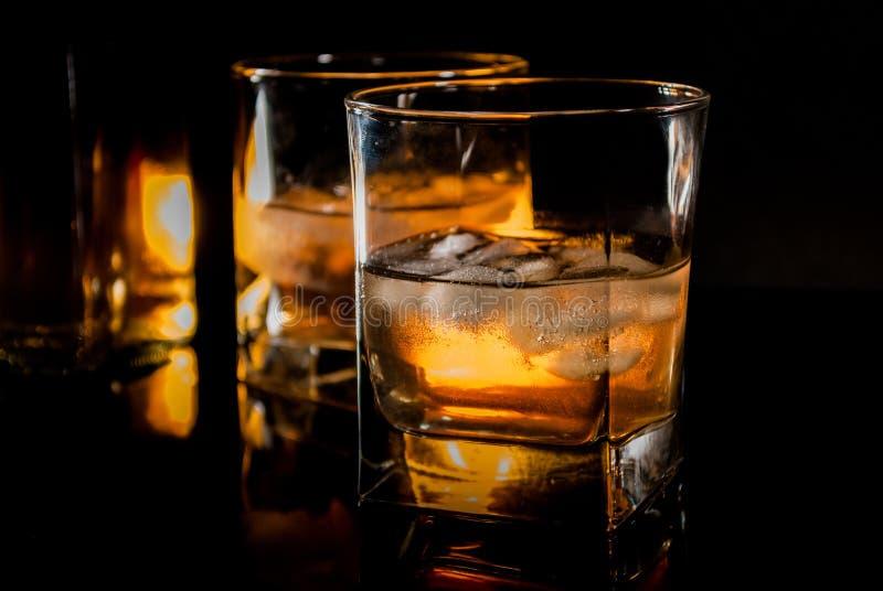 Whisky of bourbon royalty-vrije stock afbeelding