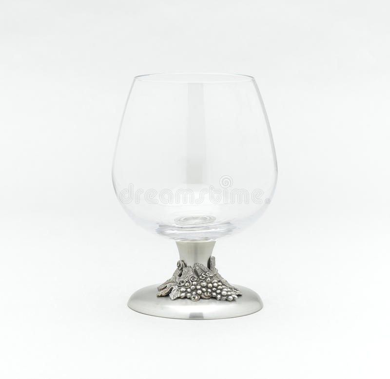 Whisky Or Brandy Glass Royalty Free Stock Photography