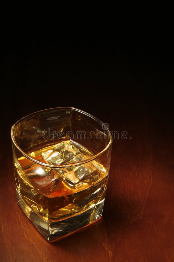 Whisky and Copyspace royalty free stock photo