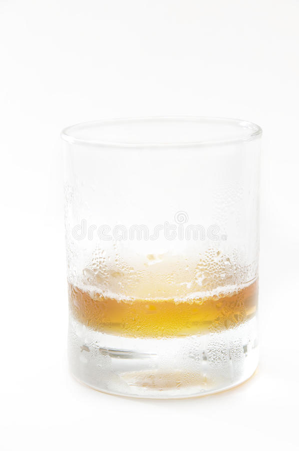 The whisky cup royalty free stock images