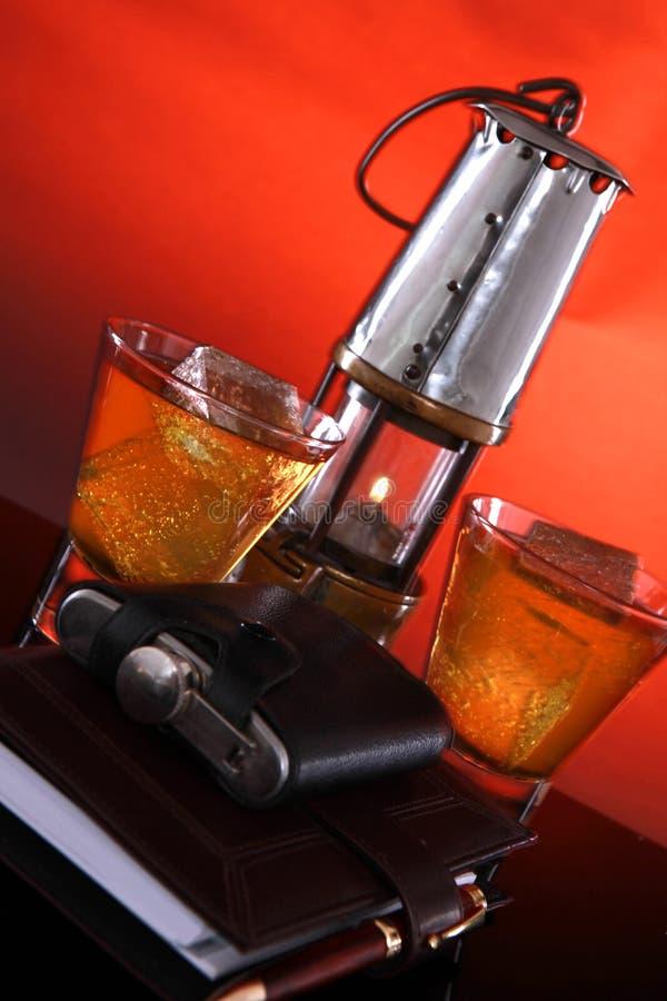 Whisky des Kohlebergmannes stockbild