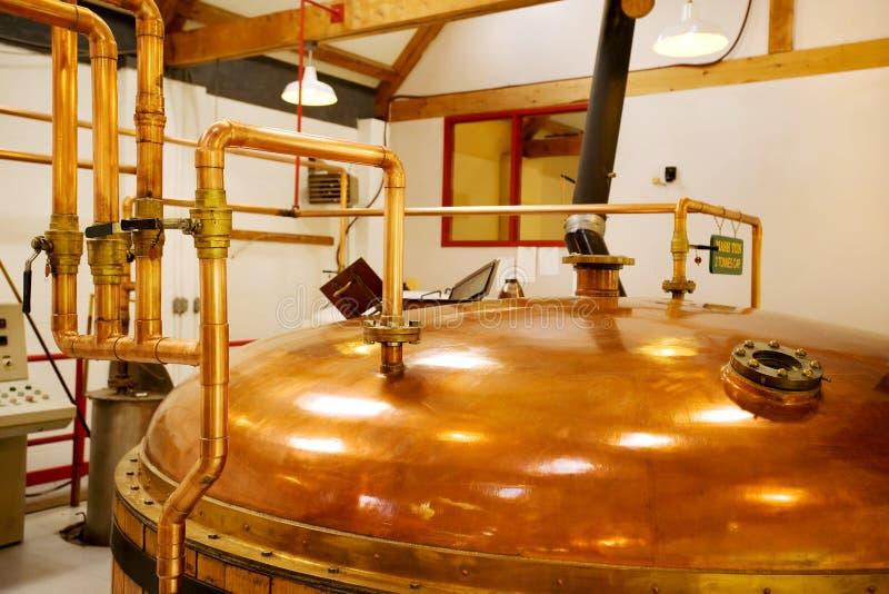 Whisky destylarnia zdjęcia stock