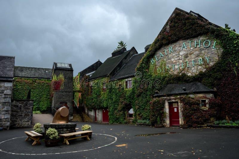 Whisky distillery stock photography