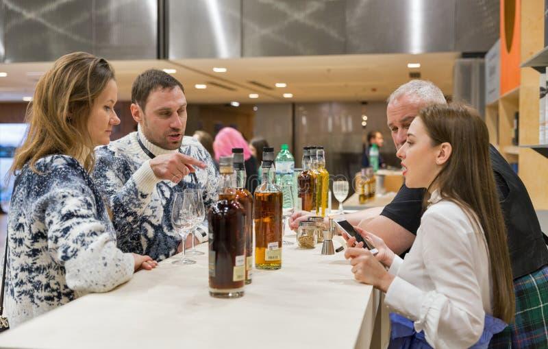 Whisky dram festiwal w Kijów, Ukraina fotografia royalty free