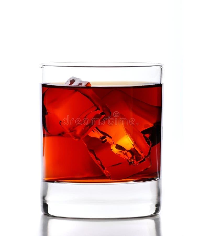 Whisky en rocas foto de archivo libre de regalías