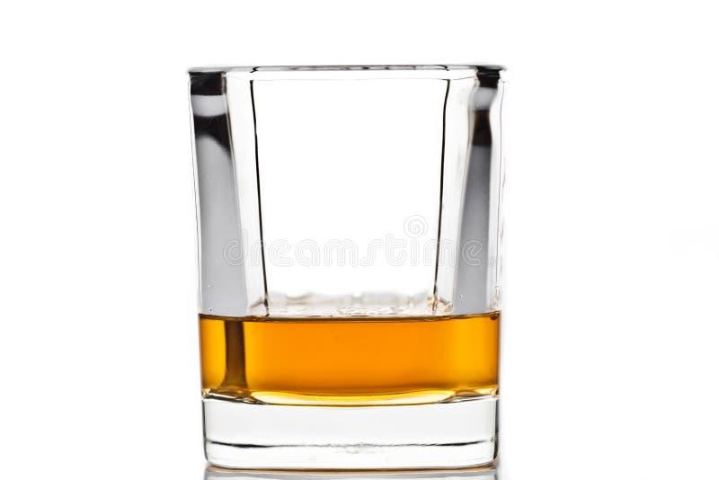 Whisky en un vidrio   imágenes de archivo libres de regalías