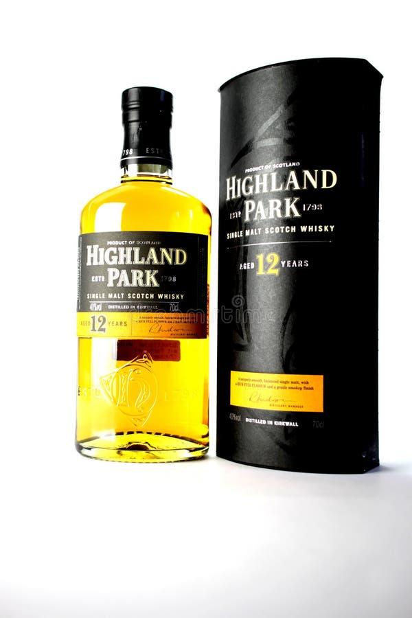 Whisky escocés fotografía de archivo