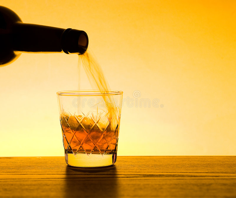 Download Whisky And Whiskey Being Poured Stock Photo - Image: 6310384