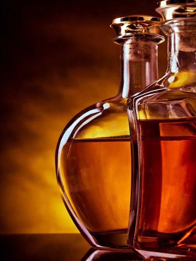 Whisky y brandy fotos de archivo libres de regalías